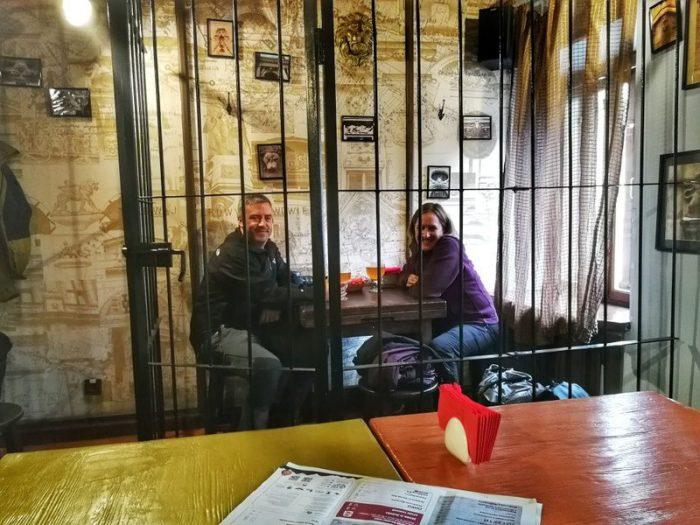 COMIENDO EN LA HOUSE OF LEGENDS, LVIV