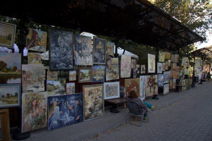 PASEO DE LOS ARTISTAS, KIEV
