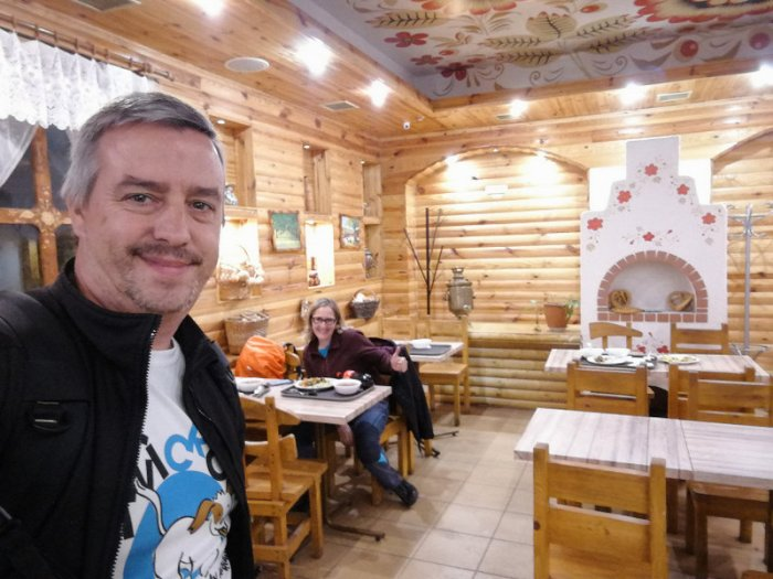 RESTAURANTE DONDE COMIMOS EN EL BARRIO DE PODIL,KIEV
