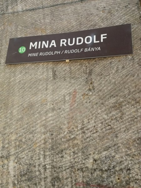 CARTEL DE LA MINA RUDOLF