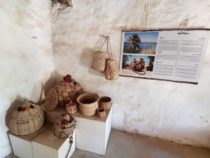 OBJETOS EN EL MUSEO DE LA CASA DE SIWA
