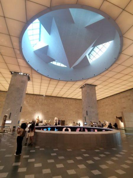 AGUJERO DE PROYECCIÓN EN EL MUSEO NMEC EN EL CAIRO