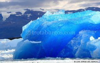ICEBERG EN LA ENTRADA AL GLACIAR UPSALA
