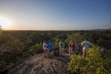 Uitkijkpunt in Majete Wildlife Reserve