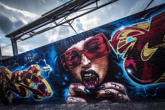 Wat te doen in Antwerpen: Streetart kijken aan de Zomerfabriek