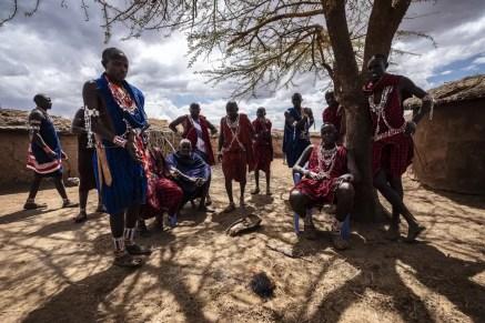 Raad van wijzen Masai Amboseli National Park