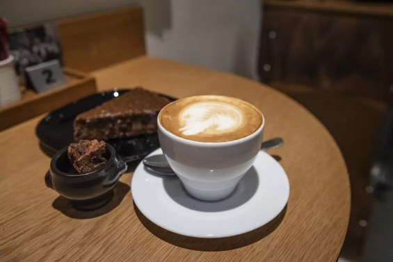 Kopje koffie in Amici Antwerpen