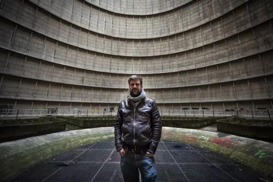 Nicolas Buissart in Koeltoren Power Plant IM in Charleroi