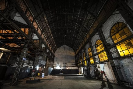 Main hall Le Rockerill in Charleroi