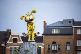 Marsupilami Statue in Charleroi