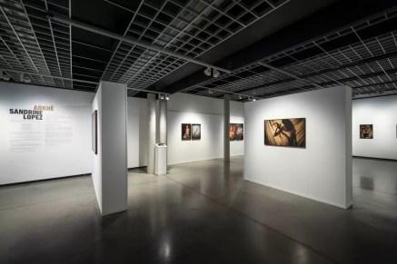 Inside Musée de la Photographie Charleroi