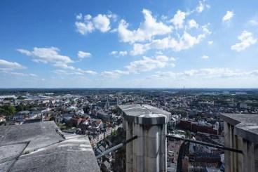 Citytrip Mechelen - Uitzicht Sint-Romboutstoren