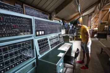 Viroinval - Spoorwegmuseum Treignes controlekamer