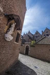 Begijnhof - Corona in Antwerpen