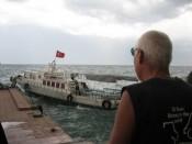 Boot van eiland