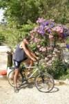 Kees met fiets