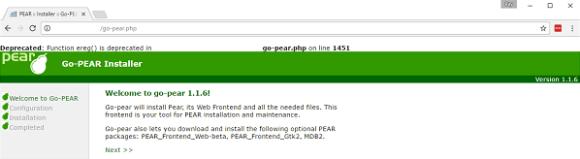 go-pear-installer