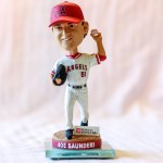 Joe Saunders 2010 Angels Bobblehead