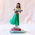 Hula Girl 2012 Angels Bobblehead