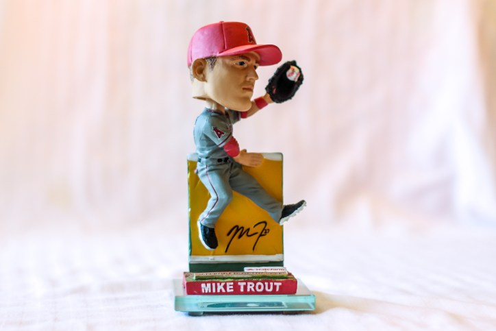 Mike Trout 2013 Angels Bobblehead
