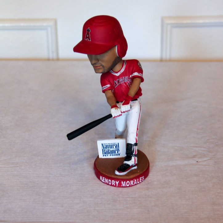 Kendrys Morales 2011 Right Handed Angels Bobblehead