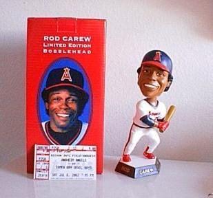 Rod Carew 2002 Angels bobblehead
