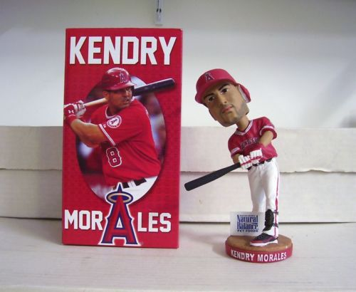 Kendry Morales Left handed 2011 Angels Bobblehead