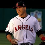 Mike Trout Los Angeles Angels of Anaheim