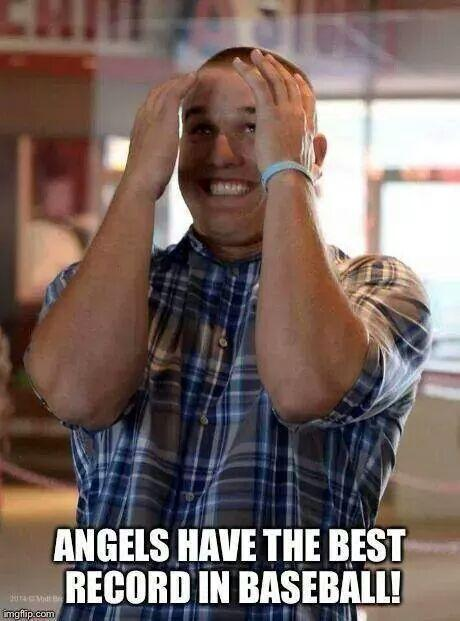 Mike Trout excited about best record