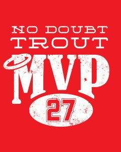 No Doubt Mike Trout MVP