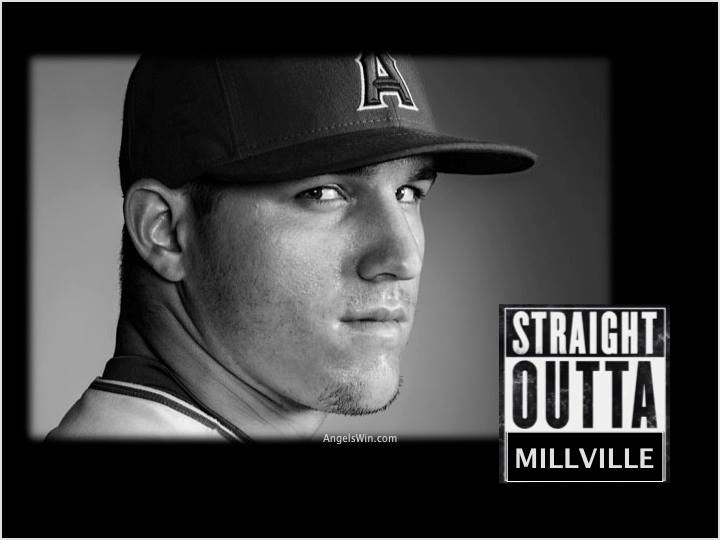 Mike Trout Straight outta compton