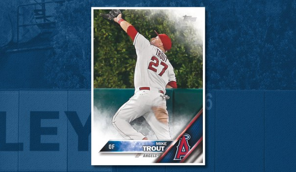 Mike Trout 2016 Topps Card