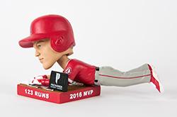 2017 Mike Trout MVP bobblehead