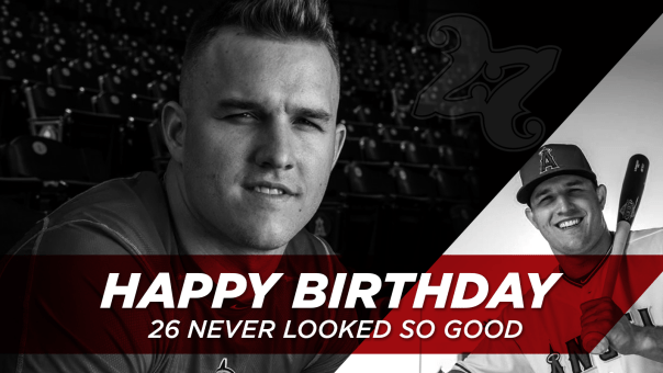Happy Birthday Mike Trout