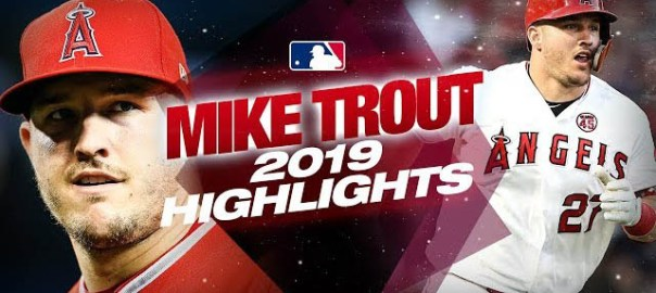 Mike Trout 2019 Highlights