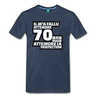 Tee Shirt 70 Ans