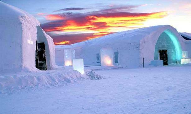 Jukkasjarvi mosquee glace Une mosquée de glace en Suède