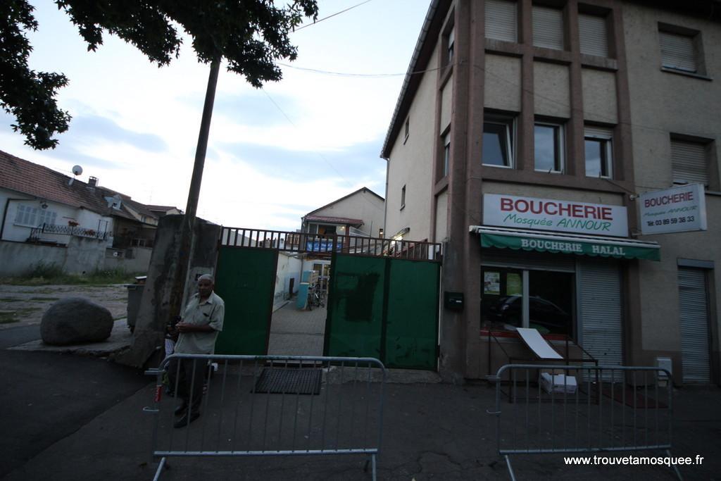 tdf mosquee mulhouse 5 Nouvel acte islamophobe à Mulhouse
