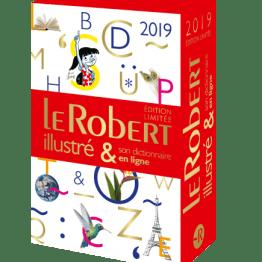 COFFRET DICTIONNAIRE LE ROBERT ILLUSTRE 2019 & SON DICTIONNAIRE EN LIGNE
