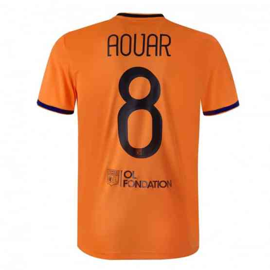 T-Shirt OL Champions League - Maillot Third Adulte officiel Adidas - Orange