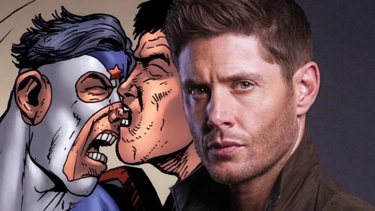 Jensen Ackles pour the boys saison 3