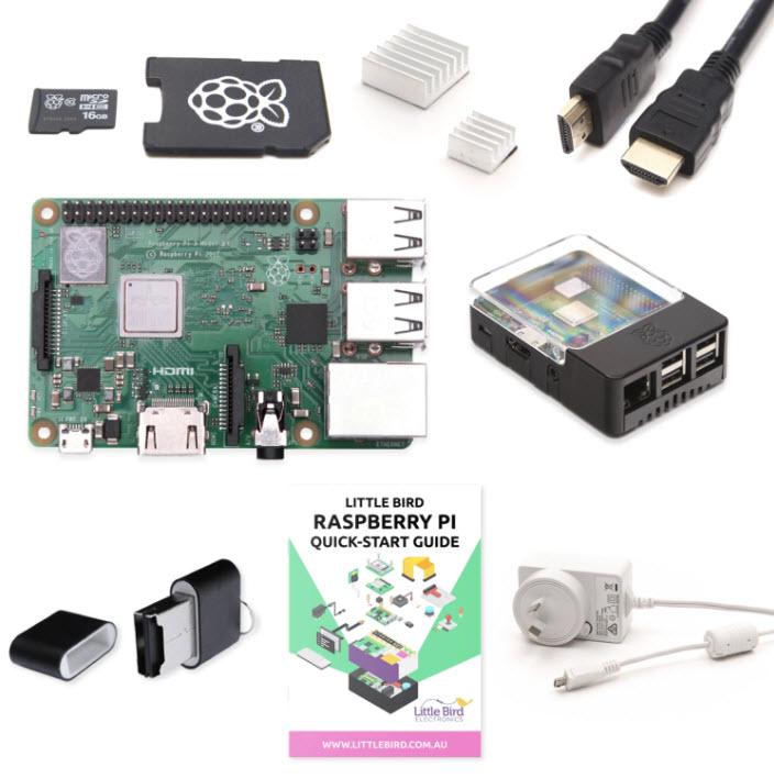 Little Bird Raspberry Pi 3 Plus Complete Starter Kit