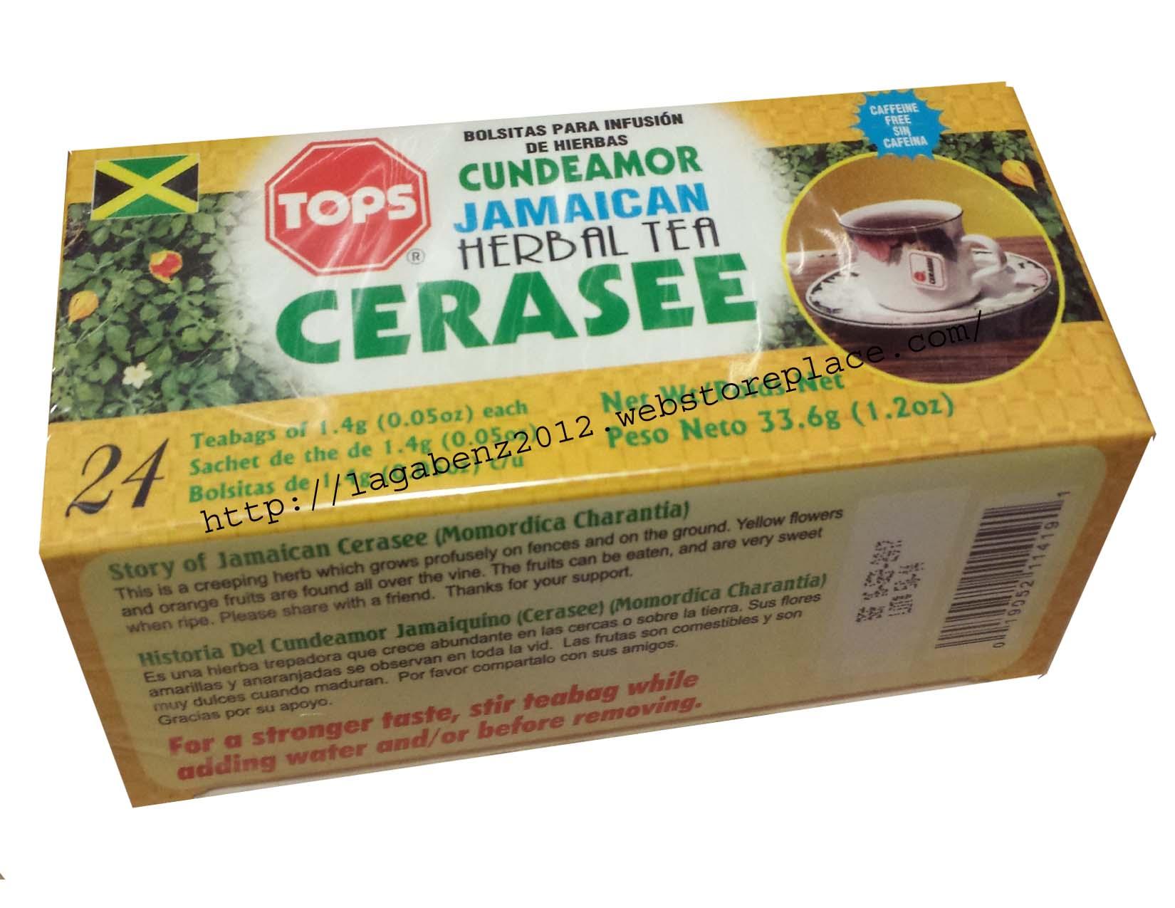 Tops Tea Jamaica Guinea Hen Weed