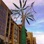 """Tree & Three Flowers"" by James Surls, Kirby Drive, Houston, Texas"