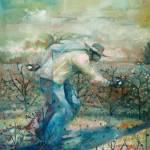 "William Tolliver, ""The Runner"", courtesy of the Zigler Art Museum."