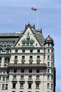 A prominent location in The Swans of Fifth Avenue, The Plaza Hotel by Rangilo Gujarati (Own work) via Wikimedia Commons.
