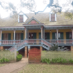 Laura Plantation was built in 1805 in the traditional Creole colonial manner with a raised brick basement and briquette-entre-poteaux construction.