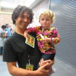 Nick Cernak and daughter
