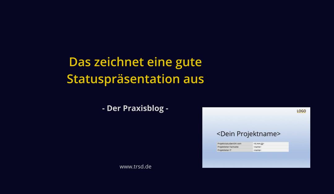 deine perfekte projektstatus prsentation - Gute Powerpoint Prasentation Beispiel
