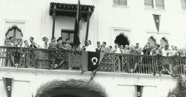 Libya Kralı İdris Senusi, 24 Aralık 1951'de ülkesinin bağımsızlığını ilan etti. Fotoğraf: Al Jazeera